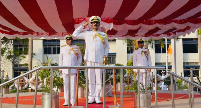 Rear Admiral Mahesh Singh assumes charge as FOC Karnataka Naval area