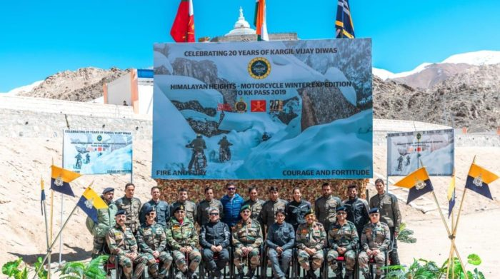 Himalayan Heights Motorcycle Expedition flagged in at Leh