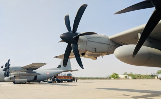 Cyclone FANI: IAF launches 3 C-130Js & Mi-17 helicopter for relief missions in Odisha