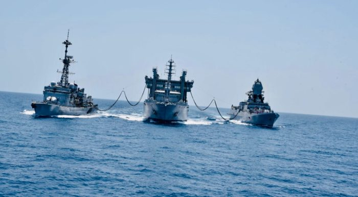 "Indo-French naval exercise ""Varuna"" sea phase intensifies on 2nd day"