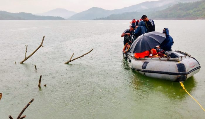Indian Naval Diving team joins search operation in Imphal River