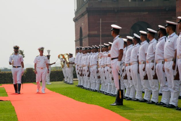 US Navy chief of operations visits India to consolidate bilateral naval ties