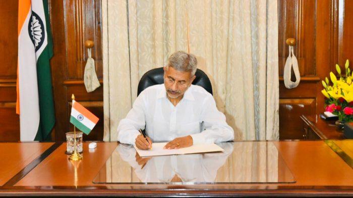Former Foreign Secretary S Jaishankar in a new role