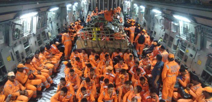Cyclone Vayu: Army columns deployed in Gujarat