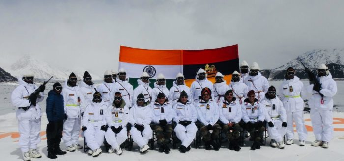 Defence Minister Rajnath Singh visits Siachen Glacier, interacts with soldiers