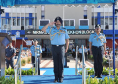 IAF Chief reviews Combined Graduation Parade in Dundigal