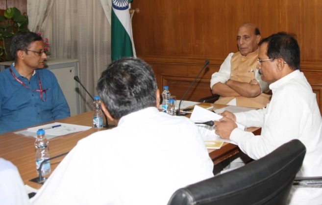 In first meeting, Rajnath Singh directs indigenous solutions for forces