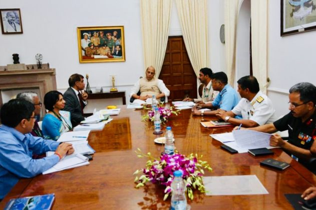 Defence Minister evolves methodology to prevent ammunition accidents