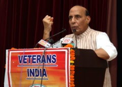 Government will interact with veterans regularly: Rajnath Singh