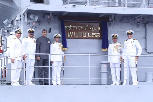 Sixth ship of LCU commissioned into Indian Navy