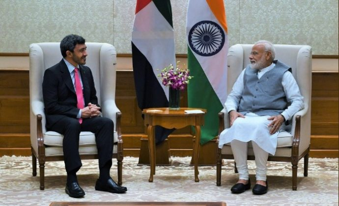 UAE Foreign Minister meets PM Modi – India Sentinels